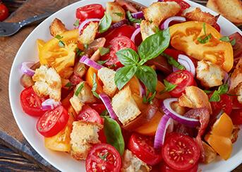 Tuscan Tomato and Bread Salad
