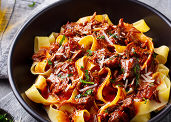 Pappardelle with Meat Ragu